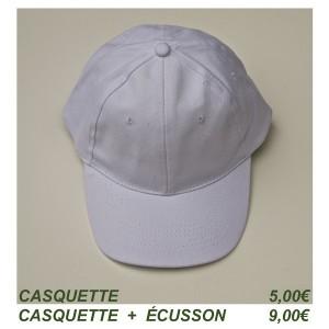 2 casquette blanche